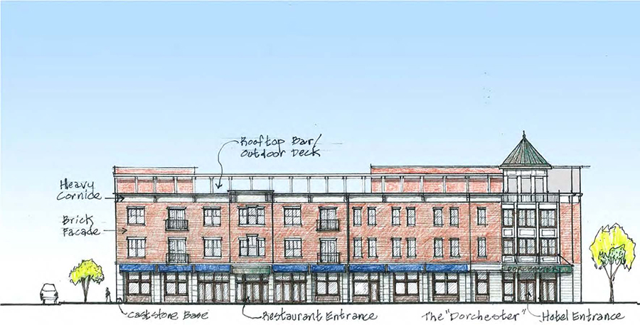 Project Image of Dorchester Mixed Use Development