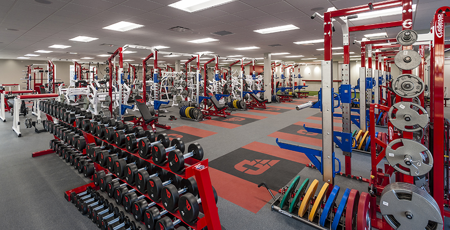 Project Image of University of Dayton Athletic Performance Center