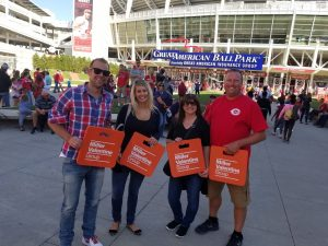 Associates Help Knock Cancer Out of the Park